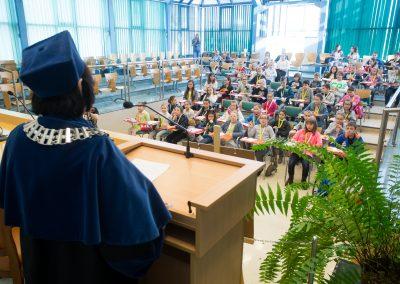 Inauguracja w a Auli Błękitnej CM